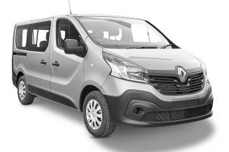 wynajem długoterminowy samochodów - Renault Trafic Long - 9 os.