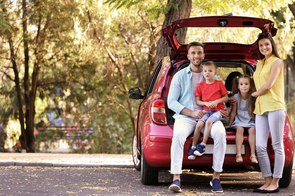 Auta z wypożyczalni na wyjazd rodzinny