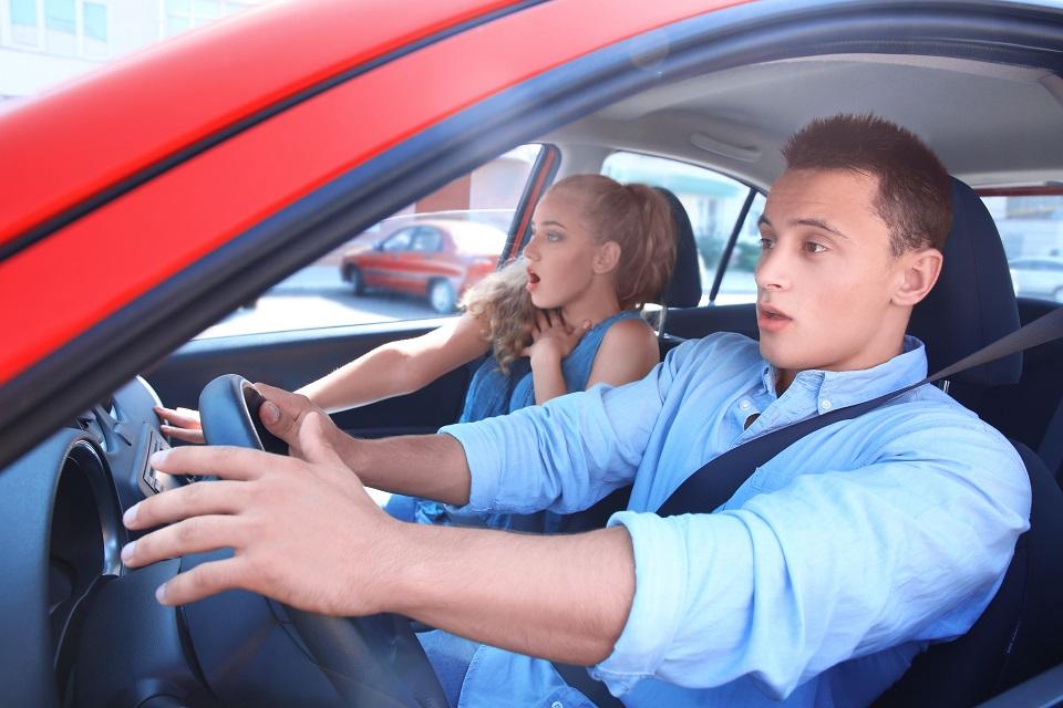 Obawy w prowadzeniu samochodu